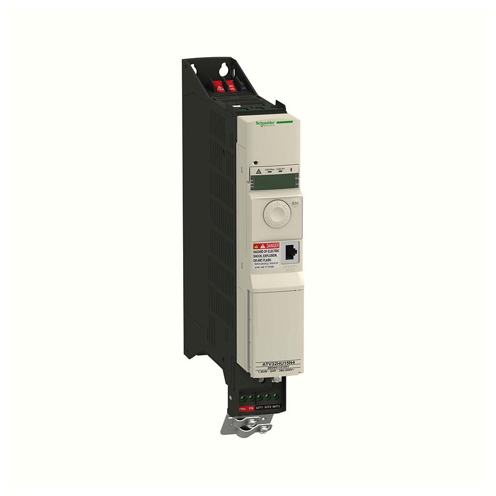 Inversor de Frequência Alimentação 380V Trifásico Saida 380V Trifásico 2CV ATV32HU15N4 SCHNEIDER