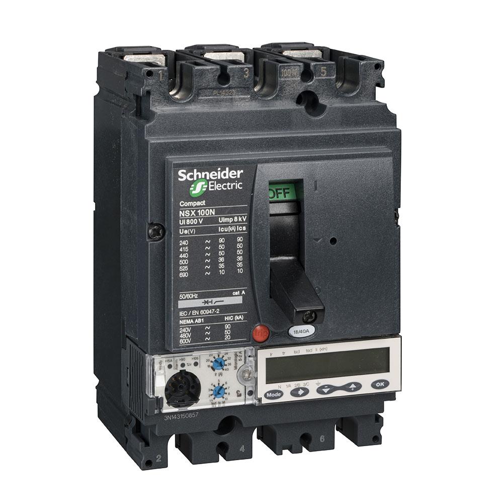 Disjuntor Lv429870 (Nsx100B/Mic 5.2A/3P) Schneider