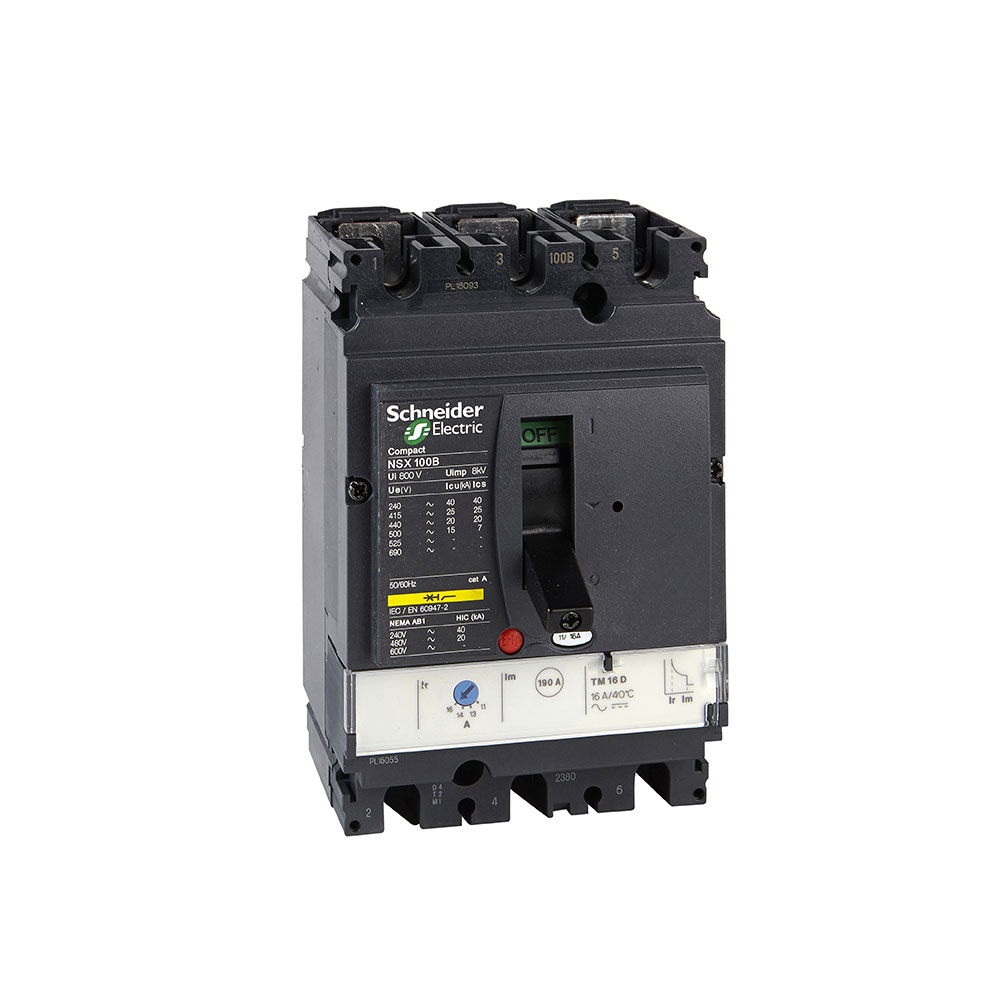 Disjuntor Lv429550 (Nsx100B Tm100D 3P3D) Schneider