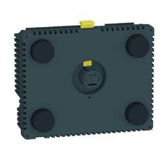 Módulo Traseiro Para Ihm Interface Homem Maquina Com 16 Entradas E 10 Saídas Digitais Hmisac Modelo Scu Schneider