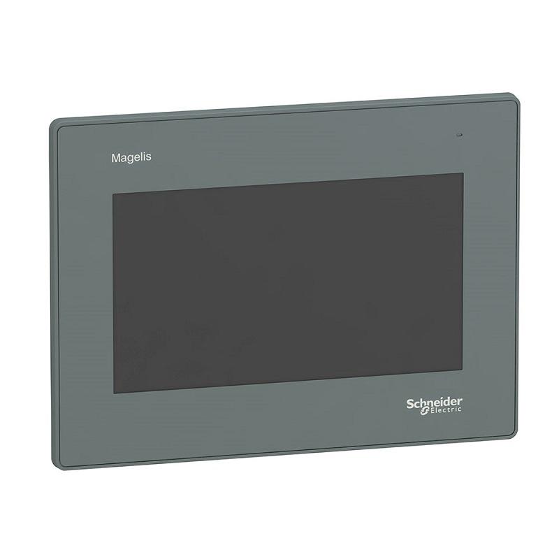 Ihm 7 Interface Homem Maquina Tátil Avançada Colorida  Lcd Tft Ethernet Hmigxu3512 Harmony Easy Gxu Schneider