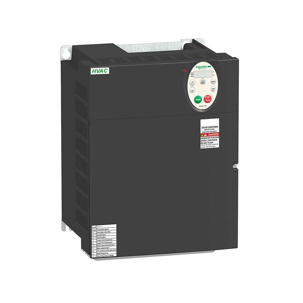 Inversor de Frequência Alimentação 220V Trifásica Saida 220 Trifásico 25CV ATV212HD18N4  SCHNEIDER