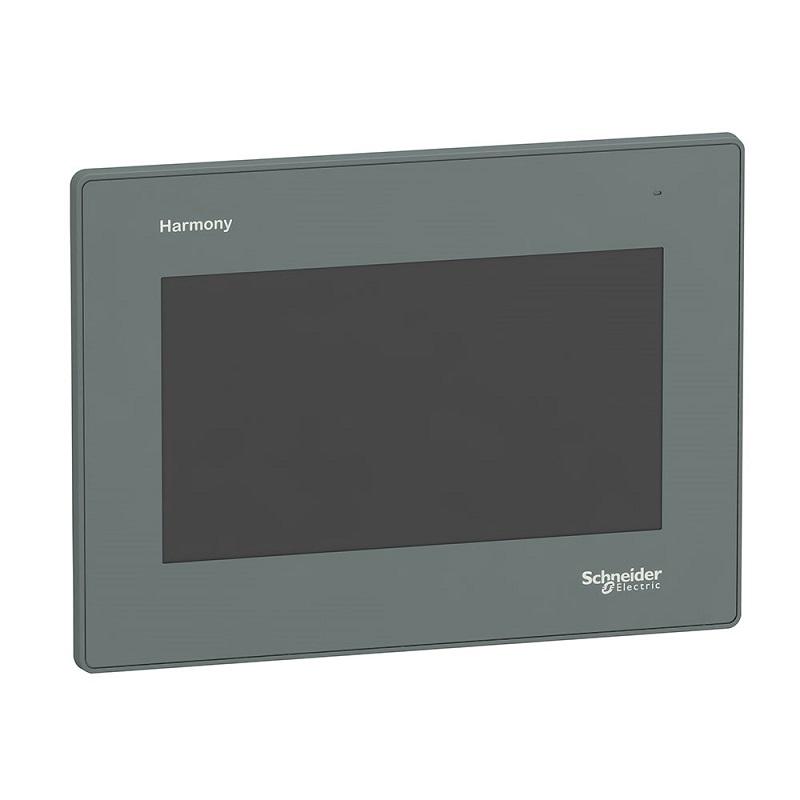 Ihm 7 Interface Homem Maquina Lcd Tátil Avançada Colorida Wvga 800 X 480 Pixels Hmigxu3500 Harmony Easy Gxu Schneider