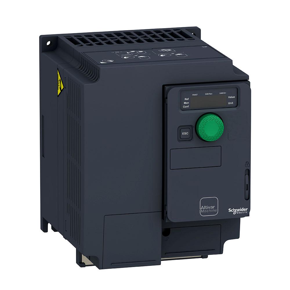 Inversor De Frequência Alimentação 380V Trifásico Saida 380V Trifásico 3Cv Atv320U22N4C Schneider