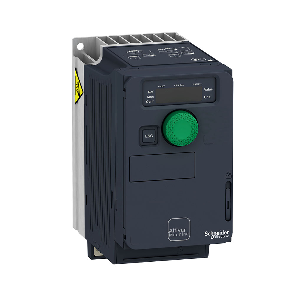 Inversor De Frequência Alimentação 220V Monofásico Saida 220V Trifásico 1Cv Atv320U07M2C Schneider