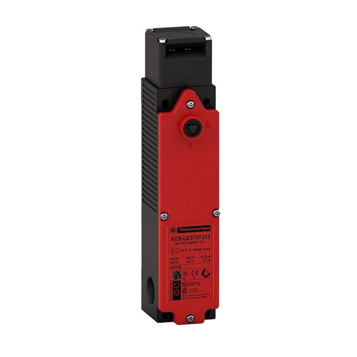 Chave Segurança Fim De Curso 2Nf 24V Xcsle2727312 Com Atuador Xcsz02 Telemecanique Schneider