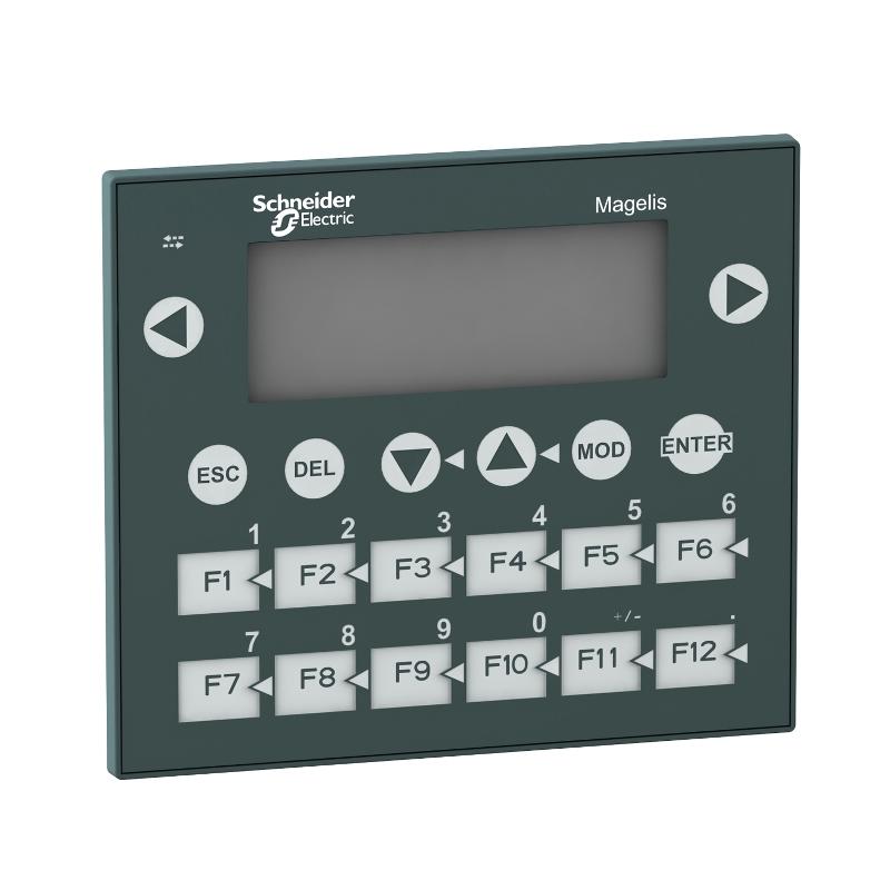 Ihm Tela Texto Interface Homem Maquina  Mono Display 4X20 Fundo Verde 20 Teclas 24Vcc Schneider