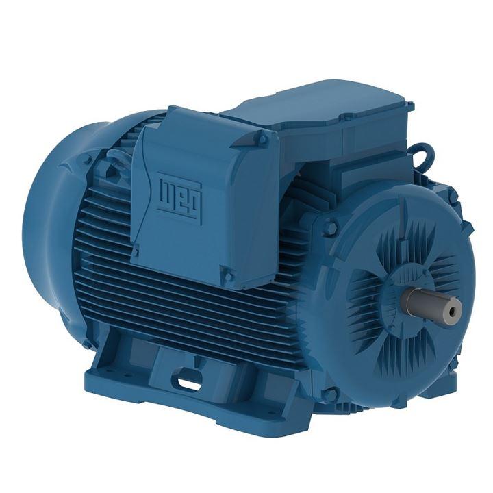 Motor Elétrico Trifásico 60Cv 4P 225S/M 3F 220/380/440V 60Hz Ic411 - Tfve - B3D W22 Ir3 Premium Weg