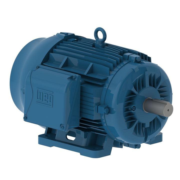 Motor Elétrico Trifásico 50Cv 4P 200L 3F 220/380/440V 60Hz Ic411 - Tfve - B3D W22 Ir3 Premium Weg