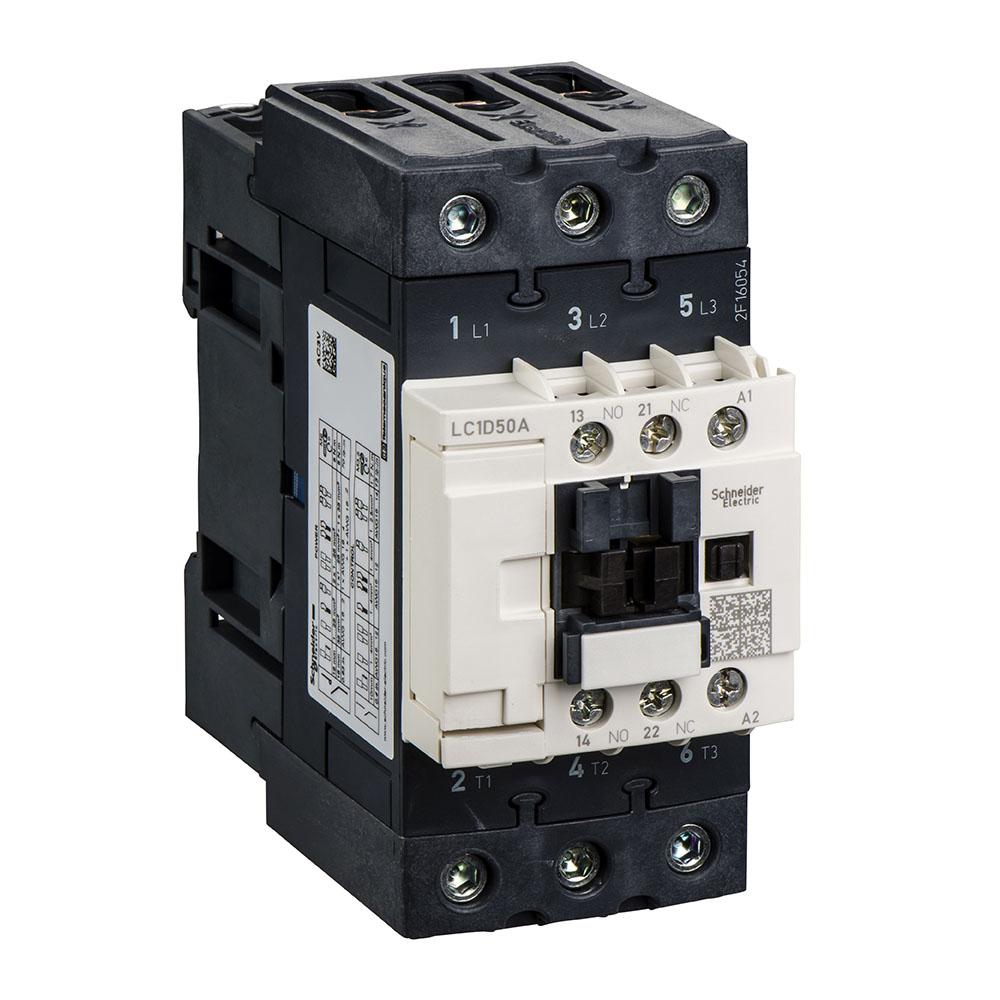 CONTATOR LC1D50AM7 (50A/220VCA) SCHNEIDER
