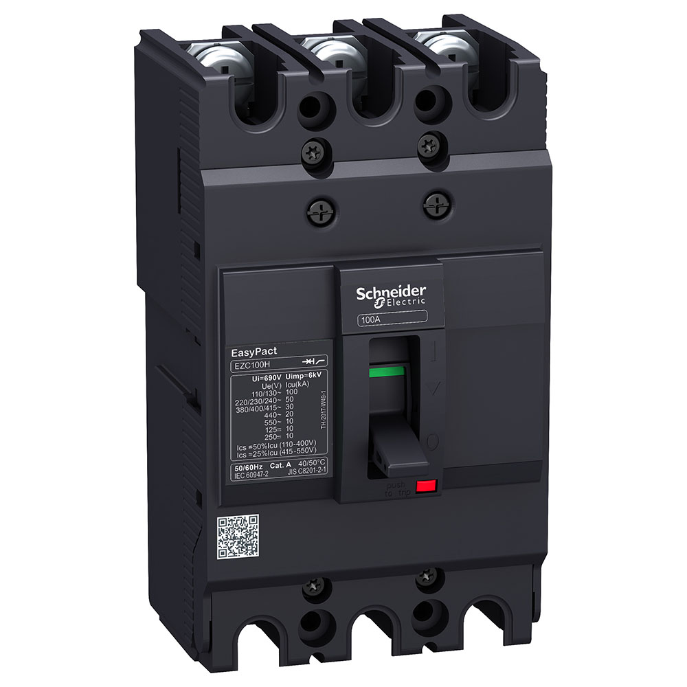 DISJUNTOR EZC100N3100 (3P/100A) SCHNEIDER