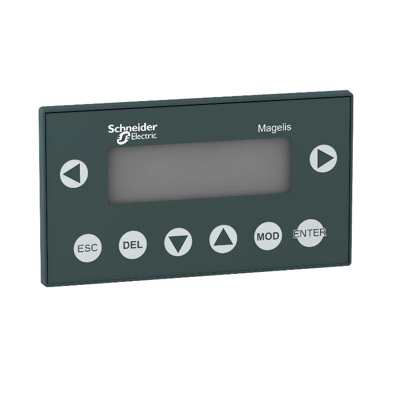 Ihm Monocromatica Interface Homem Máquina Lcd Magelis Tela De Texto 4X Linhas De 20 Caracteres Rj45 Modbus Schneider