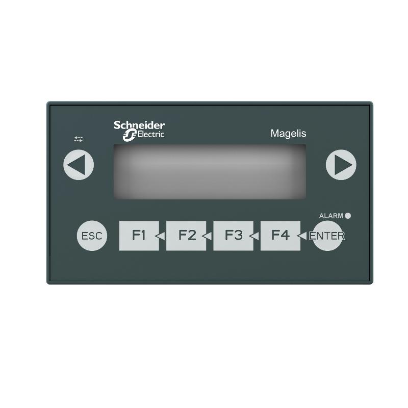 Ihm Monocromatica Interface Homem Máquina Lcd Magelis Universal Tela De Texto 4X Linhas De 20 Caracteres Modbus Schneider