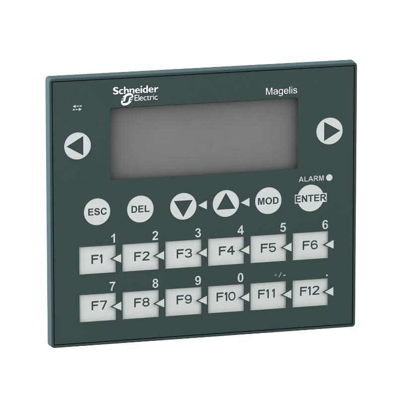 Ihm Tela Mono Interface Homem Maquina  Display 4X20 Fundo 3 Cores 20 Teclas 24Vcc Schneider