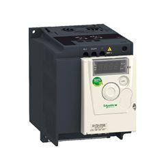 Inversor De Frequência Alimentação 220V Monofásico Saida 220 Trifásico 2Cv Atv12Hu15M2 Schneider