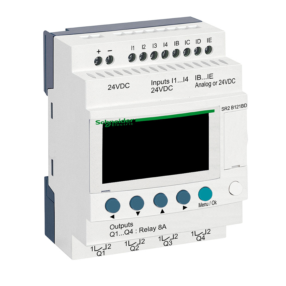 Rele Zelio Logic Sr2B121Bd 24Vcc Schneider