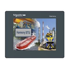 Ihm 5.7 Interface Homem Maquina Tátil Modular Colorida Qvga Serial Tft Ethernet Hmistu855 Harmony Sto & Stu Schneider