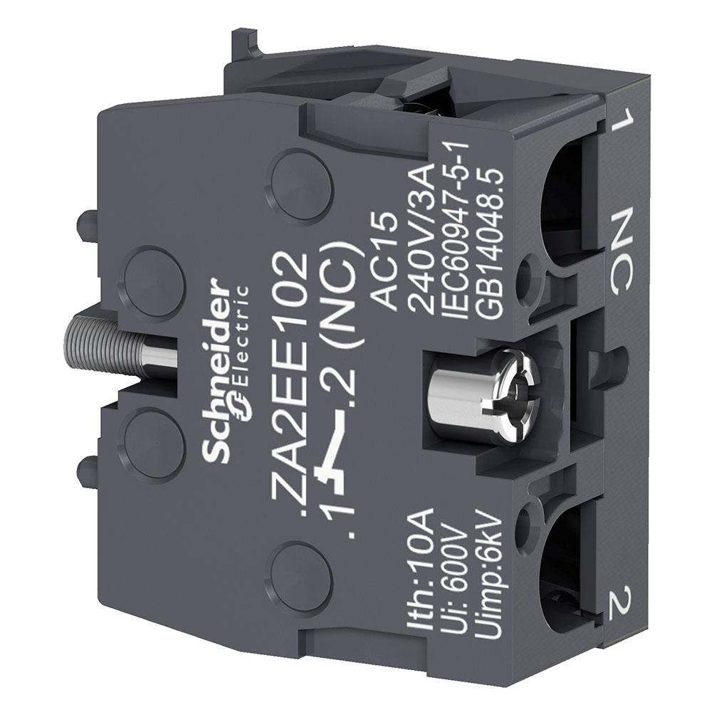 Bloco Za2Ee102 (P/Botao Xa2E/1Nf) Schneider