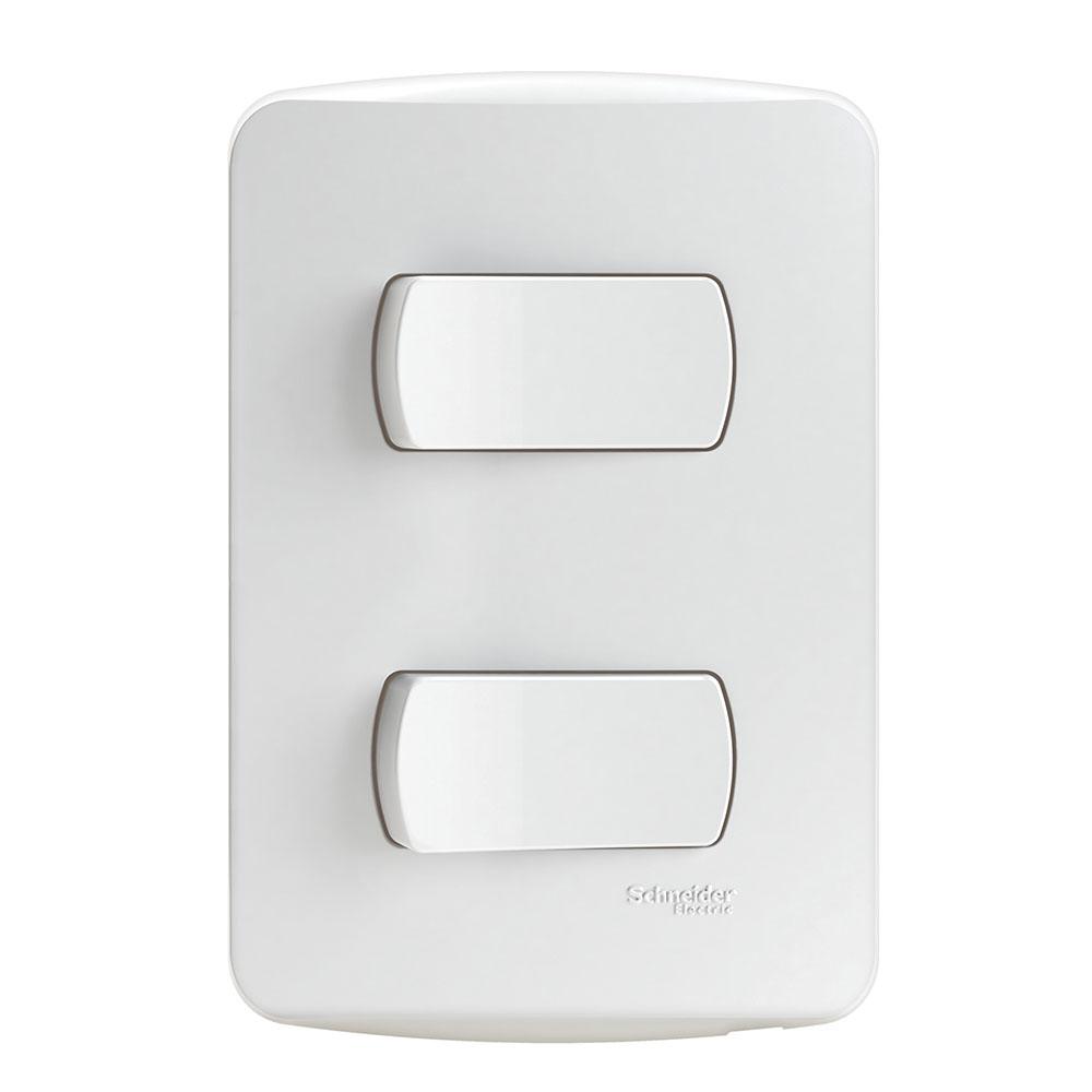 Interruptor S3B62110 (2Teclas/10A/Br) Schneider